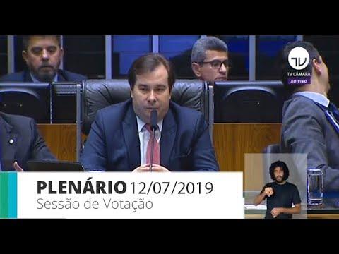 Plenário - Sessão para análise de emendas à reforma da Previdência - 12/07/2019 - 09:31