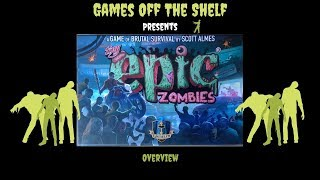 Tiny Epic Zombies: Deluxe Edition - Overview