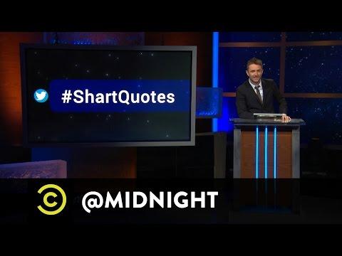 #HashtagWars - #ShartQuotes - @midnight with Chris Hardwick