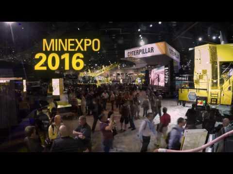 Caterpillar At MINExpo 2016