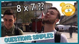 Les Français ont-ils le niveau collège ? - Micro-Trottoir - Les Inachevés