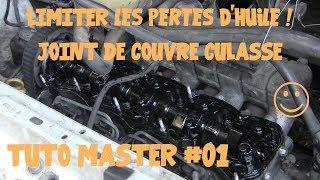 Tuto Master #01 Joint de couvre culasse (cache culbuteurs)