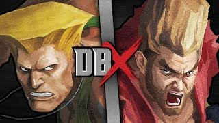 Guile VS Paul Phoenix (Street Fighter VS Tekken) | DBX
