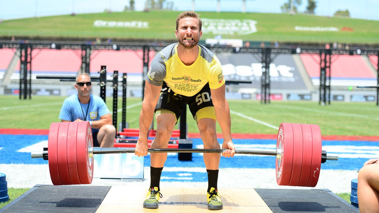 The crossfit games team deadlift big bob 200 youtube falaconquin