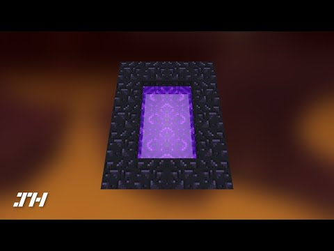 Minecraft: How To Build A Nether Portal