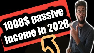 Passive income 2020 Earn 1000$ monthly Work from home 2020 hindi