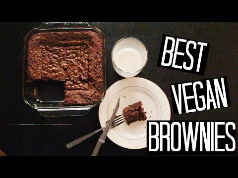 BEST VEGAN BROWNIE RECIPE