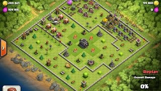 clash of clans collection of the worst bases ever and wins!