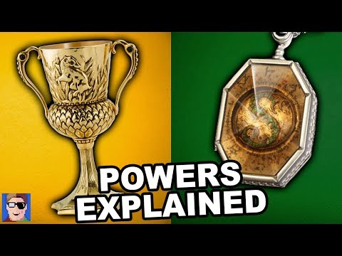 Harry Potter Theory: Hufflepuff's Cup And Slytherin's Locket (ft. Seamus Gorman)