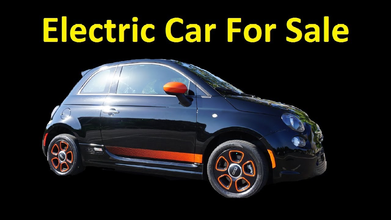Fiat 500 Lease >> Fiat Electric Car 500E Used off Lease 500 For Sale Cheap 1yr Warranty - YouTube