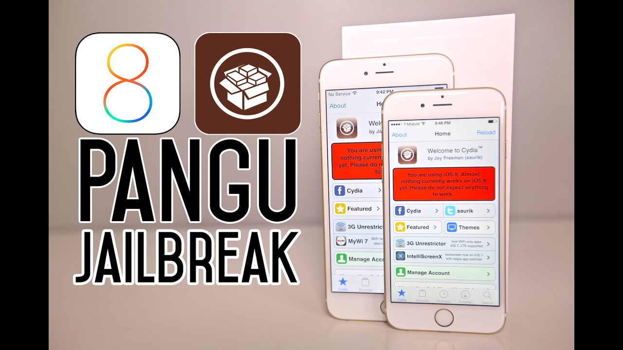 How To Jailbreak iOS 8 Untethered - iPhone, iPad, iPod on 8.1, 8.0.2