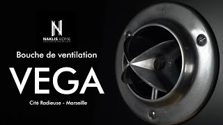 Bouche de ventilation VEGA