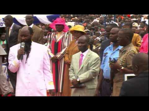 Grand Mega Kakamega Revival Dec 31, 2013 - Prophet Dr. Owuor