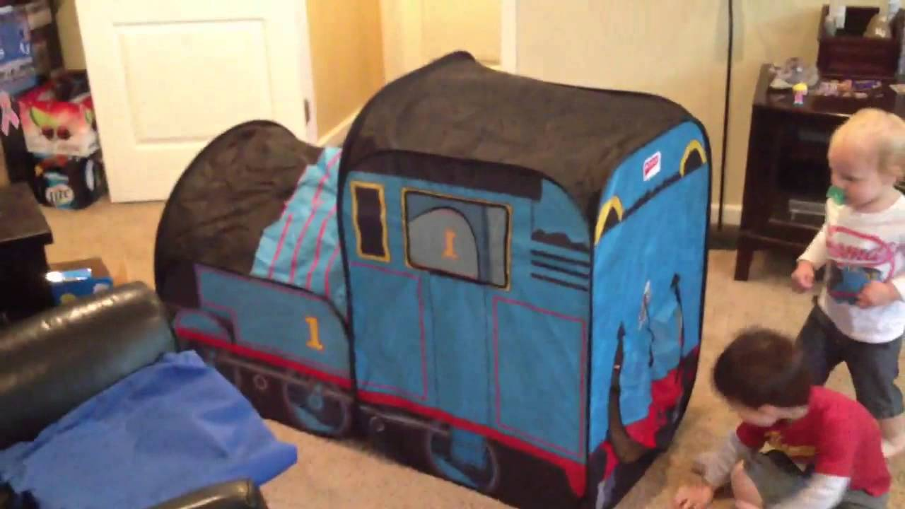 & Thomas the Train Tent - YouTube