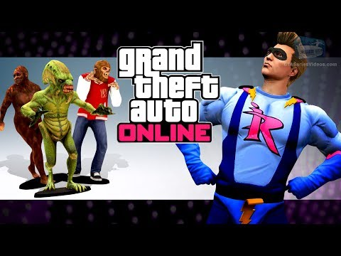 GTA Online - All 100 Action Figures Locations And Impotent Rage Outfit