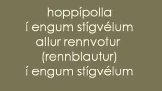 sigur rós - hoppipolla lyrics