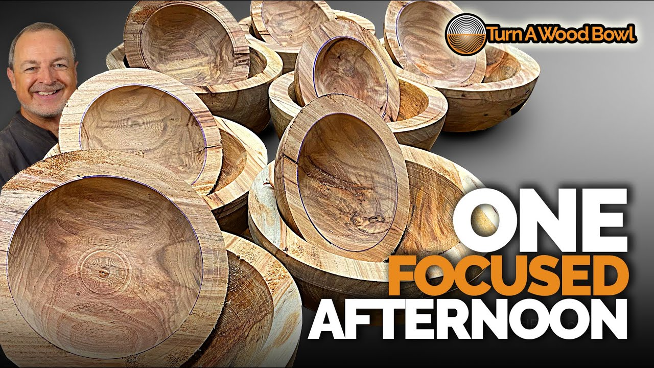 Wood Bowl Production – Video