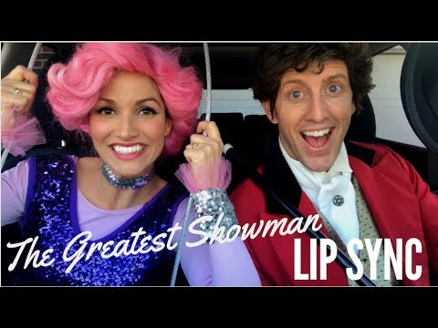 THE GREATEST SHOWMAN LIP SYNC | Kristin and Danny