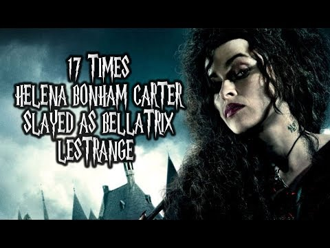 17 Times Helena Bonham Carter Slayed As Bellatrix Lestrange