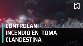 Controlan incendio tras explosión en Tlahuelilpan - Las Noticias