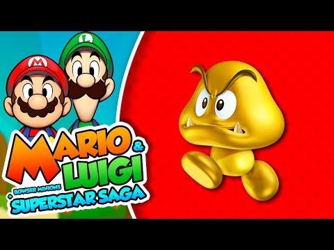 ¡Secuaces dorados! -  #16 - Mario & Luigi Superstar Saga + Secuaces de Bowser (3DS) DSimphony