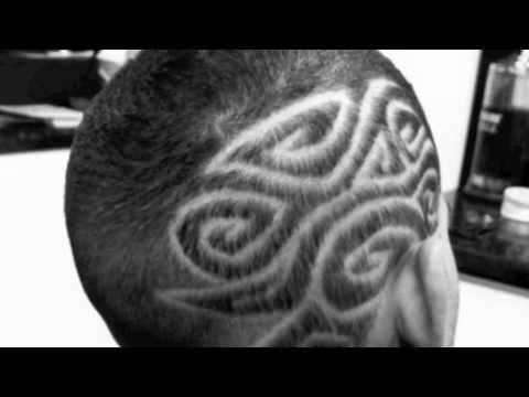 anis barber hair tattoo