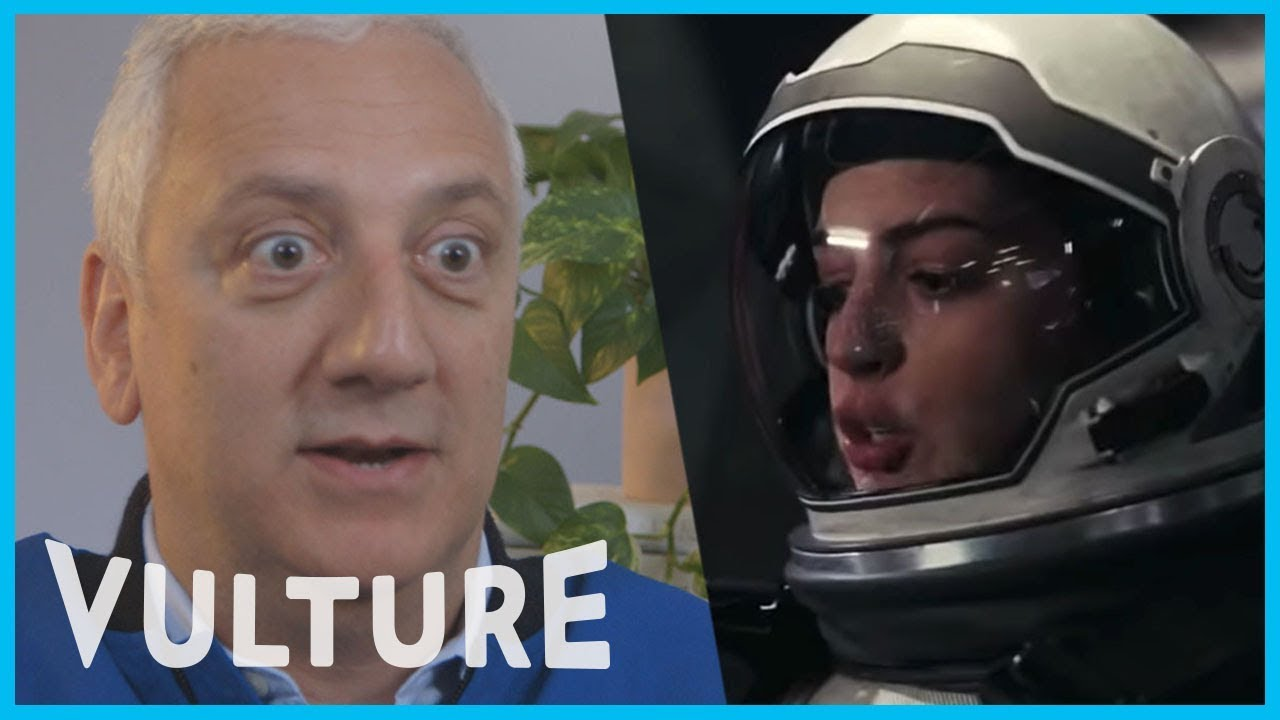 An Astronaut Reacts to Films About Space - YouTube