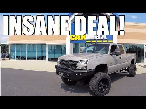 Thumbnail: What Will Carmax Pay for a Lifted Duramax?? **The Answer Will Surprise You**