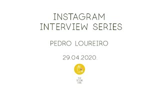 Sketching Interview Series - E03 - Pedro Loureiro - Instagram Live recording