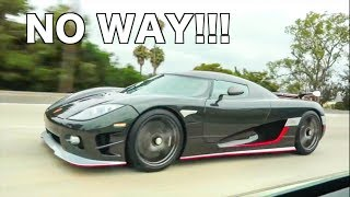 800HP Lambo vs Koenigsegg CCXR *SHOCKING RESULTS* thumbnail