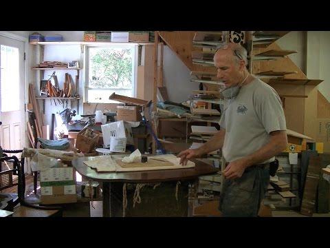 A Minimally Invasive Putty Repair - Thomas Johnson Antique Furniture Restoration