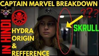 Captain MArvel teaser trailer Breakdown || Explained in HINDI ||