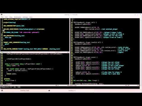 Behavior Driven Development using Google C++ Testing Framework
