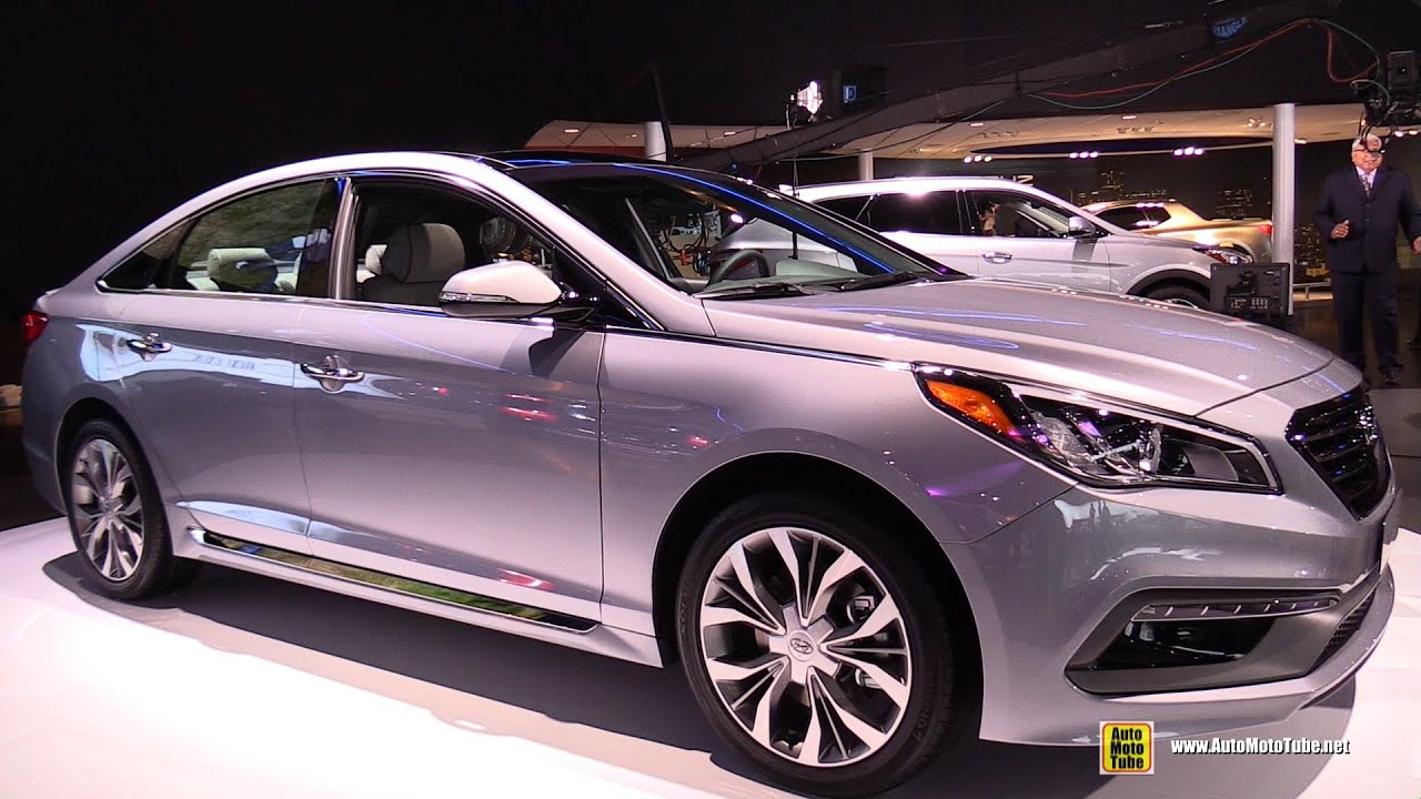 hyundai sonata 2015 exterior. 2015 hyundai sonata 20t limited exterior and interior walkaround detroit auto show youtube n