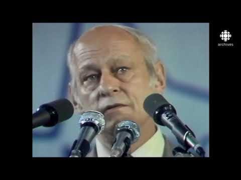 René Lévesque et la défaite du référendum - 1980