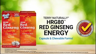 Red Ginseng HRG80™ Energy with Terry | Terry Naturally