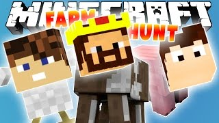 МЫ ПРЕВРАТИЛИСЬ В ЖИВОТНЫХ! [Minecraft Farm Hunt Mini-Game]