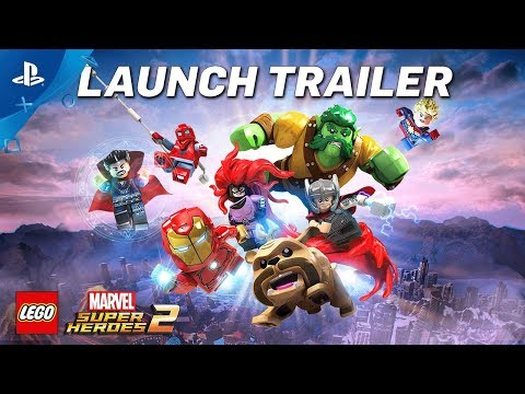 LEGO Marvel Super Heroes 2 – Launch Trailer | PS4