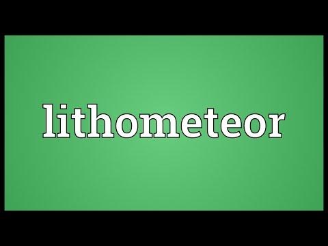 Header of lithometeor