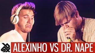 ALEXINHO vs DR.NAPE | WBC Loopstation Battle | Semi Final
