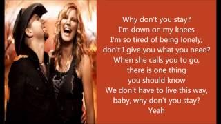 STAY by Sugarland w/ lyrics
