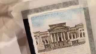 [유럽 여행 드로잉] 1일 1그림 어반스케치, 맨체스터…