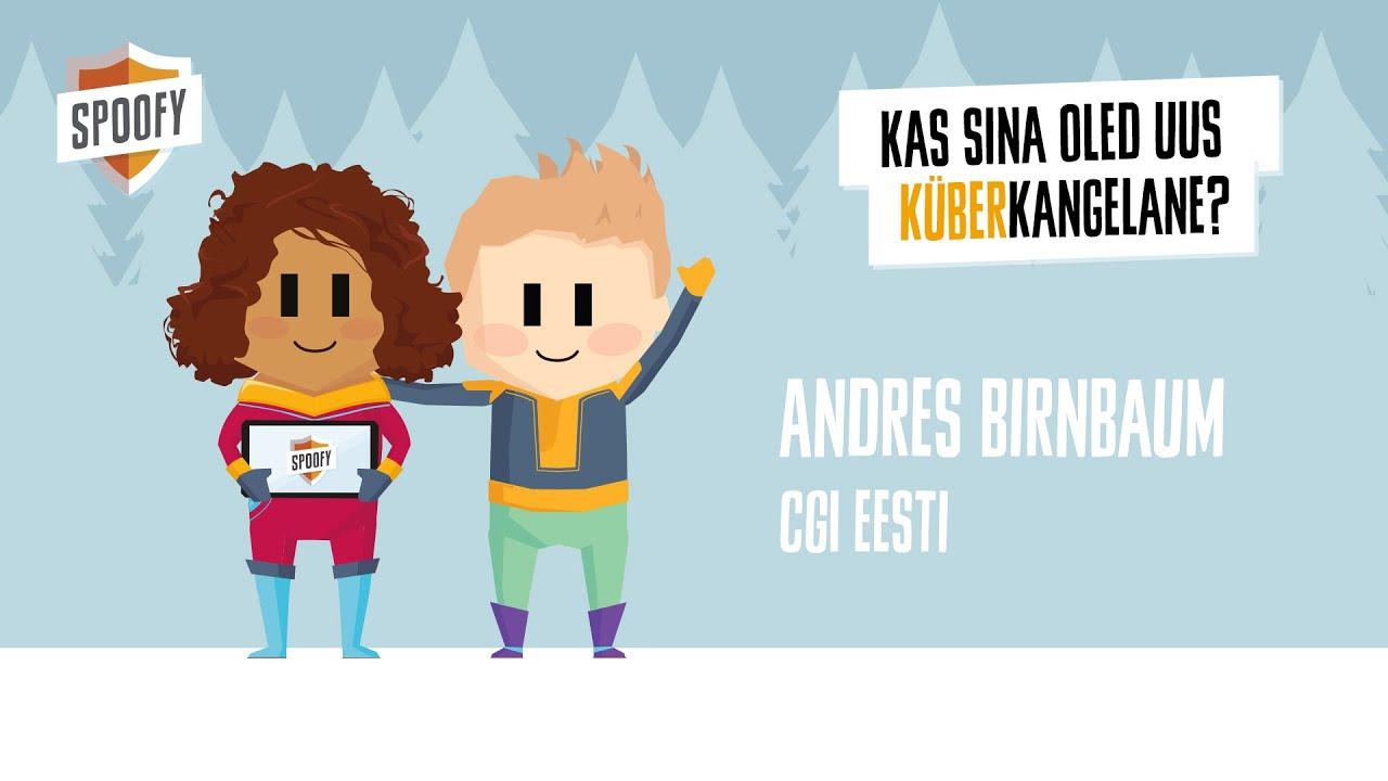 Spoofy | Andres Birnbaum x CGI Eesti