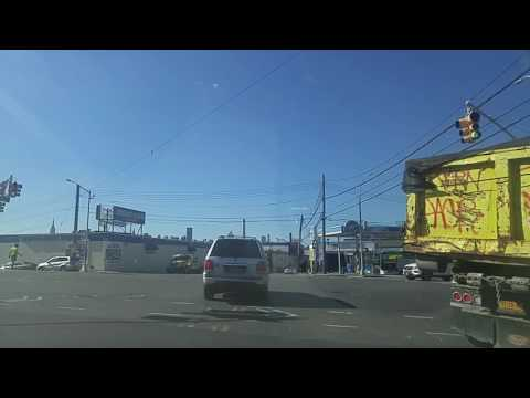 Driving from Long Island City Queens to Greenpoint Brooklyn,New York
