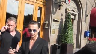 Depeche Mode Dave Gahan In St Petersburg 24 06 2013
