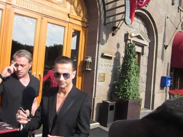Depeche Mode. Dave Gahan in St. Petersburg. 24.06.2013