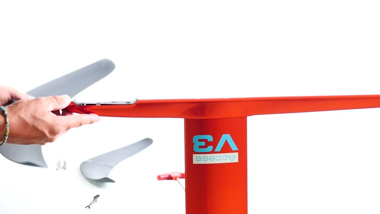 Assemblage Kitefoil AlpineFoil ACCESS V3