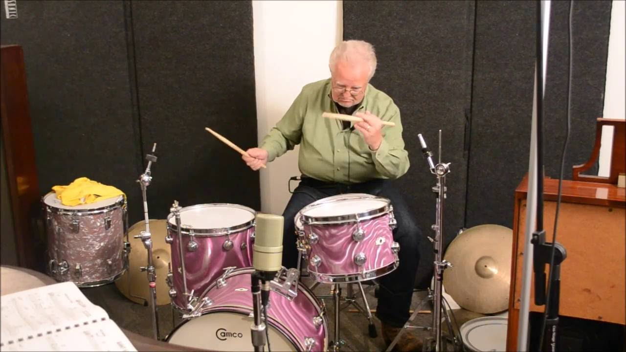 Steve Maxwell Vintage Drums Camco 20 12 14 5 5 Oaklawn Purple Moire Youtube
