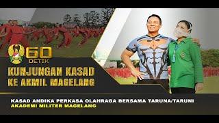 Kasad Olahraga Bersama Taruna/Taruni Akmil Magelang