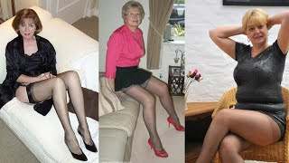women over 40 and pantyhose and stockings#3 💚💕🌼